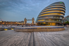 City Hall, London (sho5572) Tags: evening river famous iconic old towerbridge building visitbritain visitengland 2019 architecture cityhall london southbank thames urban april modern nikon flickr