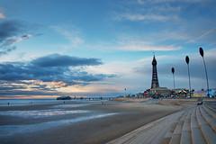 Sunset over Blackpool (nickcoates74) Tags: blackpool blackpooltower sunset beach coast fylde northpier bluehour lancashire seaside a6300 ilce6300 1650mm sel1650 pz1650mmf3556 3leggedthing affinityphoto