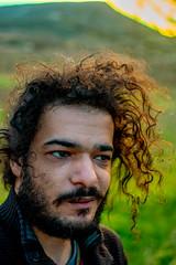 Autoportrait (YassChaf) Tags: autoportrait selfie nature montagne vert green colline hill gard france portrait couleurs color