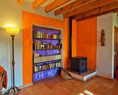 Biblioteca (brujulea) Tags: brujulea casas rurales turre almeria casa rural nacimiento del rincon biblioteca