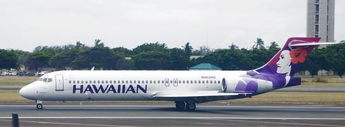 Hawaiian Boeing 717 McDonnell Douglas MD-95 Douglas DC-9 N483HA DSC_1623