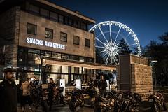 Bikers and Ferris Wheels (BisonAlex) Tags: europe 歐洲 sony a73 a7iii a7m3 a7 taiwan 台灣 外拍 旅拍 travel 街拍 street streetphoto streetshot hungary budapest 匈牙利 布達佩斯 night 夜拍 夜晚 ferroswheel 摩天輪