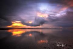 WP8 (Karen Duffy PhotoArt) Tags: wellington point queensland australia sunset golden water holidays anzac