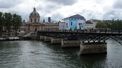 Pont des Arts & Institut de France, Paris (Harald Kobmann) Tags: paris pontdesarts institutdefrance seine