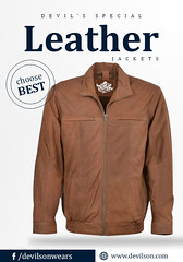 Shop-the-latest-fashion-trends-leather-Bomber-jacket (devilsondotcom) Tags: leather jackets mens fashion cool best motorcycle biker