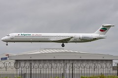 LZ-LDS / McDonnell-Douglas DC-9-82 / 53218/2060 / Bulgarian Air Charter (A.J. Carroll (Thanks for 1 million views!)) Tags: lzlds mcdonnelldouglas md82 dc982 dc980 md80 m80 m82 d98 532182060 jt8d217c bulgarianaircharter 451f16 london heathrow lhr egll 27l