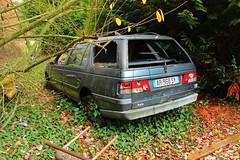 Peugeot 405 break 3 (Raphael Drake) Tags: abandonne abandoned urbex rurex decay decayed epave voiture car wreck peugeot 405 break