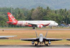 AirAsia Airbus A320-216 9M-AQC BIG Duty Free livery (EK056) Tags: airasia airbus a320216 9maqc big duty free livery langkawi international airport