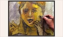 MUJER-PINTURA-PINTAR-RETRATOS-MUJERES-EXPRESION-FEMENINA-MODELOS-FOTOS-PINTANDO-PINTURAS-ARTISTA-PINTOR-ERNEST DESCALS (Ernest Descals) Tags: mujer mujeres dona dones woman women modelo models modelos expresion femenina expresiones confianza dominio satisfaccion expresar pintar retrato portrait paint pictures artistas artist pintores pintor pintors figura cuerpo cara mirada hands manos movimiento pose posados alma dedos fingers ojos pintura pintures pinturas cuadros quadres artwork art arte painting paintings fotos pintando painters painter plastica ernestdescals labios lips posando interior sugerentes female chica personalidad expression human humana