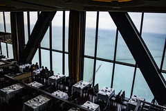 (jfre81) Tags: chicago 875 north michigan john hancock center sky restaurant 360 tables window lake water james fremont photography jfre81 canon rebel xs eos