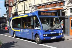 Optare Solo (DennisDartSLF) Tags: shrewsbury bus arriva optare solo 6008 arrivamidlands fj54otv
