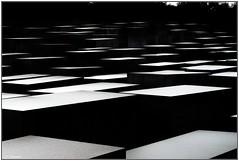 Berlin  DSC05520 (stefanprassel) Tags: bw berlin sw germany deutschland denkmalfürdieermordetenjudeneuropas blackandwhite black white schwarzweiss weiss