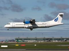 Stobart Air                              ATR72                                    EI-REH (Flame1958) Tags: stobartair stobart stobartatr stobartatr72 atr atr72 eireh dub eidw dublinairport panning 040415 0415 2015 9132