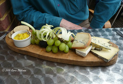 April 23rd, 2019 London Street Brasserie cheese board (karenblakeman) Tags: reading uk londonstreetbrasserie restaurant cheeseboard food april 2019 berkshire 2019pad