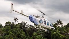 PK-CDV - Carpediem Air - Bell 206L Longranger (bcavpics) Tags: pkcdv carpediemair bell 206l longranger aviation aircraft helicopter chopper heli lodtunduh bali indonesia bcpics