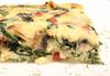 Frittata (Cindy's Here) Tags: frittata spinach mushroom redpepper mozzarella cheese canon smileonsaturday hsos