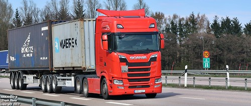 Scania S580 (S661) A-F Transport - [Maersk][NYK Logistics
