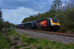 GWR - 43 172 - 1A83 (Gellico) Tags: gwr hst class 43 172 harry patch