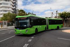 Titsa 2300 on Route 467, Estacion De Guaguas (e400olympus) Tags: titsa 2300 5742jzd scania k360ud castrousa magnus
