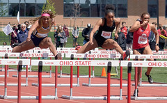 Jesse Owens Track Classic (londonexpat) Tags: sports trackandfield columbus ohio ohiostate jesseowenstrackclassic hurdles trackmeet intensity concentration sony a6500 sel70300g universityofnotredame