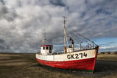 Shipwrecked (joyhhs) Tags: iceland landscape on1 boat april 2016 canon photography