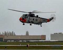Landing Retro RCN Sea King in Kodachrome II Tones (AvgeekJoe) Tags: 12417 4017 61283 britishcolumbia ch124 ch124seaking ch124a ch124aseaking cyyj canada canadianarmedforces d5300 dslr helicopter importedkeywordtags kodachromeii nikon nikond5300 rcaf register12417 royalcanadianairforce s61b saanichpeninsula seaking sikorskych124aseaking sikorskys61b tamron18400mm tamron18400mmf3563diiivchld victoria victoriainternational victoriainternationalairport yyj airport cn61283 chopper