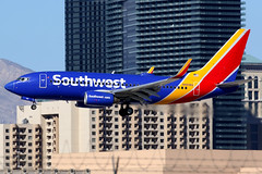Southwest Airlines | Boeing 737-700 | N916WN | Las Vegas McCarran (Dennis HKG) Tags: aircraft airplane airport plane planespotting canon 7d 100400 lasvegas mccarran klas las southwest southwestairlines swa wn boeing 737 737700 boeing737 boeing737700 n916wn