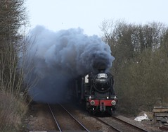 Gargrave (Jacobite52) Tags: 48151 35018 8f wcrc mainlinesteam lms railway train steam