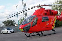 London's Air Ambulance in Cricklewood (kertappa) Tags: img6969 air ambulance londons london hems doctor paramedics hospital gehms emergency helicopter kertappa broadway retail park cricklewood