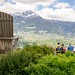 Aussichtsplattform Algund | Meranerland | Ifinger | Meran | Dorf Tirol | Stuhl