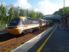 43185 Bodmin Parkway (Marky7890) Tags: gwr 43185 class43 hst 1a80 bodminparkway railway cornwall cornishmainline train