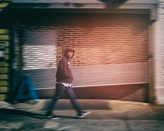 'sup (Darren LoPrinzi) Tags: 5d canon5d canon miii street streets streetphotography man walking blur motionblur movement person pedestrian philly philadelphia city urban light glare flare eyecontact
