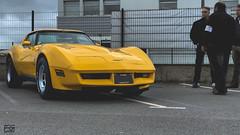 Corvette C3 (Rossi Picture) Tags: cars coffee rennes bretagne france ile et vilaine paddock virtual virtuel bar rassemblement meeting automobile chevrolet chevy corvette stingray c3 v8 yellow muscle car vintage oldtimer
