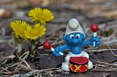 """ ta dam"".....spring serenade (KvikneFoto) Tags: blomst flower natur bokeh tamron nikon mf smurf"