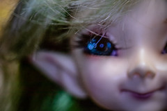 what sparkling eyes you have (Dotsy McCurly) Tags: sparkle sparkling eyes arttoy toyphotography fun beautiful canoneos80d efs35mmf28macroisstm fairy elf