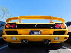 1999 Lamborghini Diablo SV (splattergraphics) Tags: 1999 lamborghini diablo diablosv carshow churchoftheholydonut burtonsvillemd