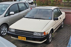 1987 Toyota Tercel DX Coupe (NielsdeWit) Tags: nielsdewit car vehicle holten fxzv50 toyota tercel coupe dx favourite