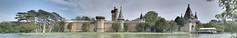 Laxenburg, Franzensburg (1836) (liakada-web) Tags: at austria aut castle d7500 panorama ptgui laxenburg loweraustria nikon nikond7500 park schloss vienna wien niederösterreich österreich