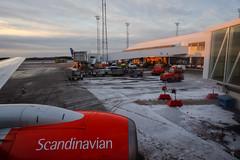 Pullback (A. Wee) Tags: sas 北欧航空 scandinavianairlines boeing 737 737700 stockholm 斯德哥尔摩 sweden 瑞典 airport arn 机场 arlanda