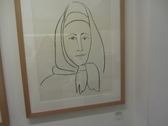 Portrait of the mother of Eugenio Arias (d.kevan) Tags: museum buitragodelozoya exhibits drawings displaycabinets madrid spain portrait eugenioariasmother