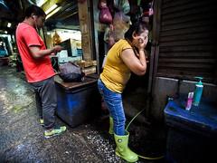 Bangkok Yaowarat Chinatown-3270209 (Neil.Simmons) Tags: wash washing face boots wellies wellington rubber