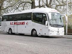 A C Williams of Ancaster Scania K360IB4 Irizar i6 YN17OOW at Johnston Terrace, Edinburgh, on 23 April 2019. (Robin Dickson 1) Tags: acwilliamsofancaster busesedinburgh scaniak360ib4 irizari6 yn17oow