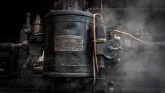 Detail steamtrain ZLSM 1040 (Eric Dankbaar) Tags: 1040 js locomotief restauratie simpelveld station stoom stoomloc stoomtrein zlsm steam loc locomotive restauration brake knorrbremse berlin detail steamtrain black