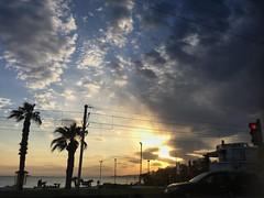 Piraeus sunset (michela_anesthesia) Tags: greece athens sun clouds photo trip sunset πειραιάσ piraeus