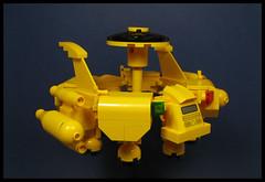 'Circle of Life' (Karf Oohlu) Tags: lego moc scifi microscale microspacetopia spaceship cargoship transporter