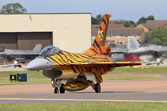 FA77 (GH@BHD) Tags: fa77 generaldynamics f16 f16am fightingfalcon belgianairforce belgianaircomponent riat riat2016 raffairford fairford royalinternationalairtattoo aircraft aviation military fighter strikeaircraft specialcolours tigersquadron tiger
