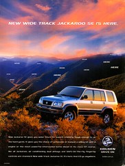 2001 UBS-2 Holden Jackaroo SE Wide Track Turbo Diesel 4WD 5 Door Wagon Aussie Original Magazine Advertisement (Darren Marlow) Tags: 1 2 20 2001 u s b usb2 h holden j jackroo t turbo d diesel suv w wagon 4wd c car cool collectible collectors classic a automobile v vehicle jap japan japanese asian asia 00s