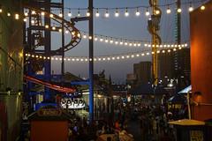 Evening amusement, Coney Island (doug turetsky) Tags: brooklyn lunapark amusementpark eveninglight streetphotography