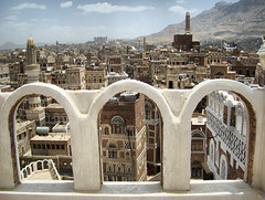 Yemen, 2007 (denismartin) Tags: sanaa yemen denismartin middleeast unescoworldheritagesite cityscape capitalecity travel flickrtravelaward photojournalism