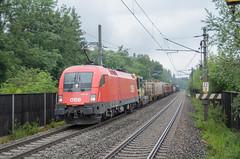 ÖBB 1116 186, Kuchl Garnei (Sander Brands) Tags: trein treni train treno trenuri trenuro taurus siemens strecke spotten sun clouds öbb obb nikon d7000 osterreich